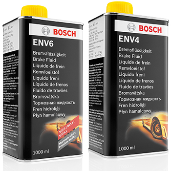 Новые тормозные жидкости bosch env4 и env6 carway